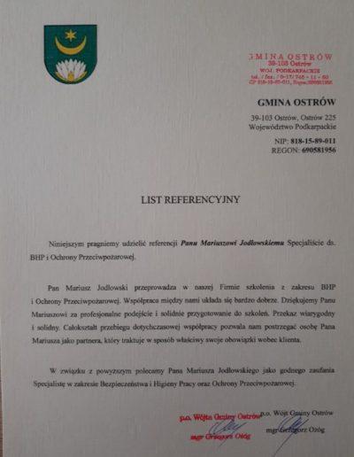 gmina_ostrów_list_referencyjny