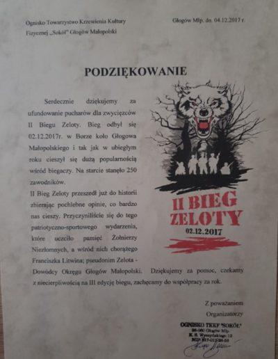 ognisko_towarzystwo_krzewienia_kultury_fizycznej_sokol_glogow_malopolski_podziekowanie