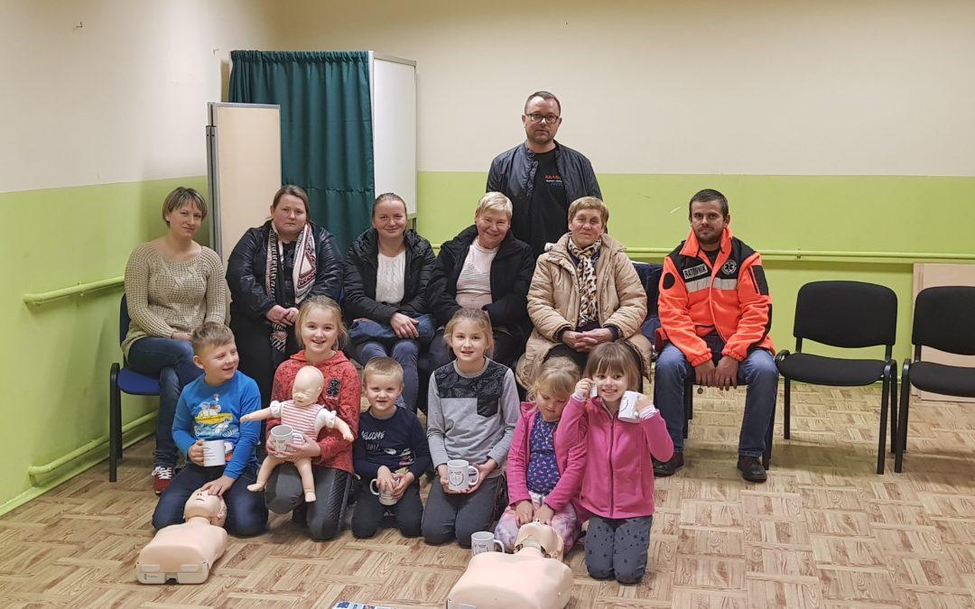 Szkolenie z pierwszej pomocy przedmedycznej dla rodziców (Blizna)